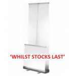 Luxury Banner Stand Double Sided